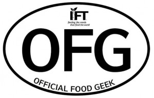 Official Food Geek of IFT