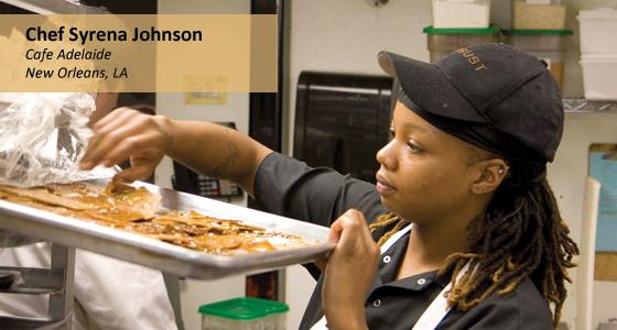 Chef Syrena Johnson