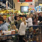 Crowded Grocery