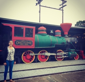 """I went to our Chattanooga plant and a coworker took me to see the Chattanooga Choo-Choo"""