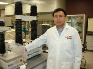 Jun at the Frito-Lay R&D North America Lab